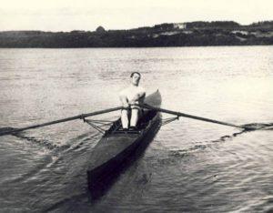 sõudja Tartust, O. Post 1910 a treeningul